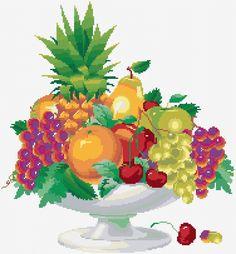 Cross Stitch | Fruits xstitch Chart | Design
