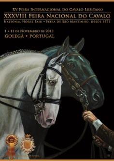 Cartaz 2013 National Horse Fair. Golegã, Portugal 2013