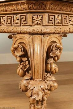 A George II Carved Side table Attributed to William Linnell the Design Possibly by John Linnell European Furniture, Classic Furniture, Wooden Furniture, Antique Furniture, Furniture Design, Wood Carving Designs, Wood Carving Art, Wow Art, Wood Sculpture