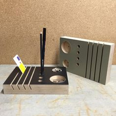 Taking orders now for these desk top organizers. Good to hold your pens pencils papers envelopes and other small office supplies. Laminated plywood with a Formica finish and the LA Fabrica stamp of approval. Get yours today by emailing us at lafabricamakes@gmail.com ! by la_fabrica_makes