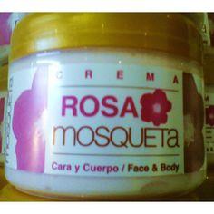 crema hidratante rosa mosqueta ciclas