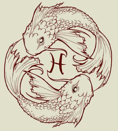 tattoos-pisces: fish tattoos - design & ideas