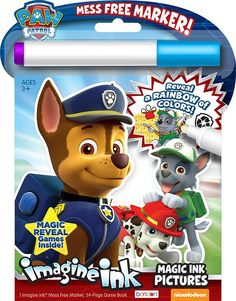 Wholesale Paw Patrol Magic Ink Activity Book (Case of 24)