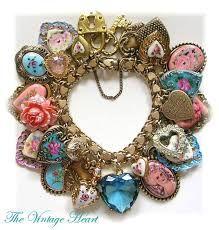 Pastel Hearts Charm Bracelet