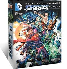 DC Comics Deck Building Game Crisis Expansion Pack 1 #DailyDeals