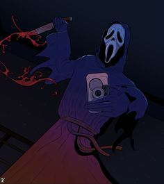 Horror Icons, Horror Art, Scary Movies, Horror Movies, Ghostface Costume, Ghostface Scream, Scream Movie, Big Scary, Ghost Faces