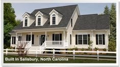 Beautiful modular home built in Salisbury, North Carolina. http://www.championhomes.com/home-plans-and-photos/modular-homes#