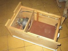 Hector Acevedo's homemade table saw