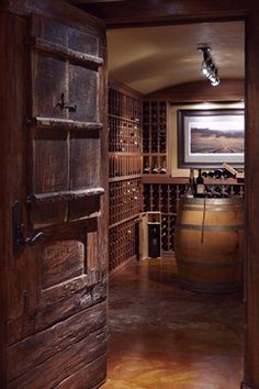 Lake House One - traditional - Wine Cellar - Seattle - McClellan Architects & A nice wine cellar. | Miniature Houses | Pinterest | Wine cellars ...