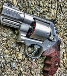357 - 8x. Concealable?? Who cares!