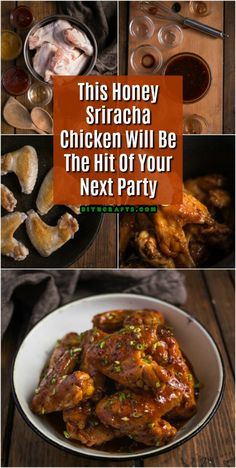 This Honey Sriracha Chicken Will Be The Hit Of Your Next Party via @vanessacrafting