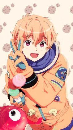 free, nagisa, and free! Art Manga, Manga Anime, Anime Art, Arte Do Kawaii, Kawaii Anime, Free Anime Wallpaper, Pastel Wallpaper, Girl Wallpaper, Yatogami Noragami