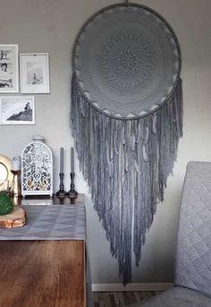 decoração de sala com filtro dos sonhos cinza grande  filtrodossonhos   decoração Painel De Natal faa1fd851a0
