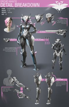ArtStation - The Orchid Mantis Project, Nick Edinger