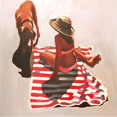 """""""Radiant Summer,"""" figurative painting by Elizabeth Lennie 