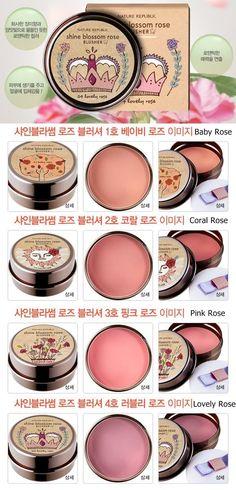 [Nature Republic] Shine Blossom Rose Blusher 6.5gOh dear! So cuuuuute!