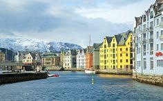 """""""Ålesund, Norway"""" by Europe Trotter"""