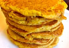 Habkönnyű almás palacsinta - Gluténmentes, cukormentes | Kata receptje - Cookpad receptek Waffles, Pancakes, Diy Food, Healthy Life, Good Food, Food And Drink, Sweets, Healthy Recipes, Snacks