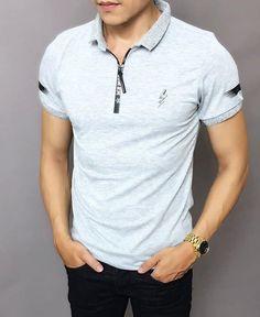 👕Áo thun nam dây kéo thời Trang ➡️Chất liệu: thun cotton co giãn 4 chiều,mượt,dày dặn,không xù lông,không rút,thấm hút mồ hôi ✏️Size: XL,XXL,XXXL(tương đương M,L,XL) 〽️Màu sắc:4 màu như hình 👍Hàng chuẩn shop(hình ảnh chụp thật,xấu hoàn tiền 200%) Zalo: 0932064341 Kurta Pajama Men, Polo T Shirts, Shirt Designs, Pajamas, Casual, Model, Mens Tops, Shopping, Fashion