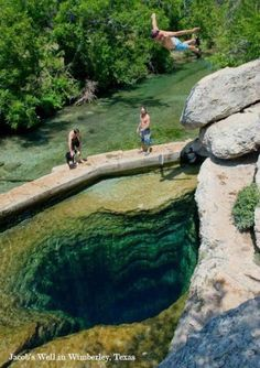 Jacob's Well, Wimberley, TX