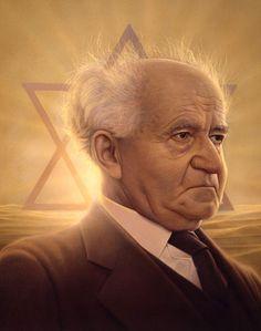 David Ben Gurion - First Prime Minister of Israel