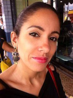 Brincos patrocinados pela Priscila bijuterias
