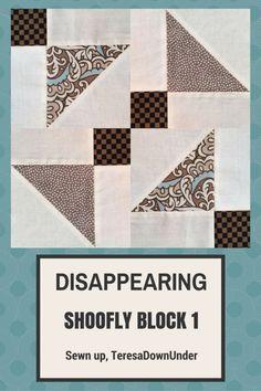 Video tutorial: Disappearing shoofly block - variation 1