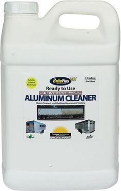 Brite Plus MX Aluminum Trailer Cleaning Solution 2.5 Gallon