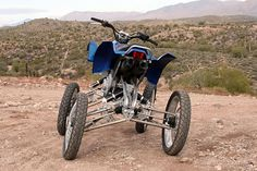Wesll quad prototype - 4 wheel leaning suspension