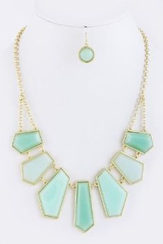 The Audrey Statement Necklace (Mint)-Free Earrings---SALE null,http://www.amazon.com/dp/B00CRPJDC2/ref=cm_sw_r_pi_dp_zLIssb16TVQAVNQK