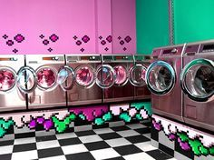 cool laundromat ideas - Google Search