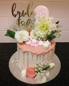 Baby shower cake idea, just need to change the topper