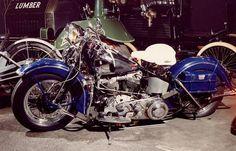 Harley Davidson motorcycle, 1942