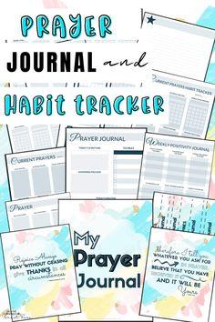 Prayer Journal and Habit Tracker for Kids