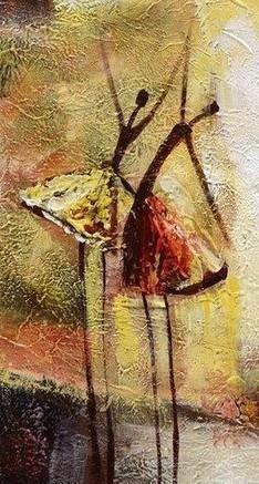 Abstract Art, Contemporary Wall Art, Modern Art, Ballet Dancer Painting, Art for Sale, 100% Hand Painted Art #balletpainting #abstractpainting #dancingpainting