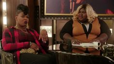Empire TV Series (Fox Network) - B-Sides: Porsha's Side Hustle - Becky reminds Porsha of her place at the record label. - FOX