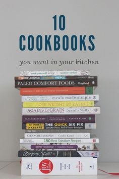 ice cream + french fries: 10 Cookbooks You Want in Your Kitchen