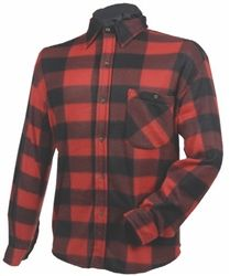 • Constructed in printed polyester fleece    • Button front with lay down collar