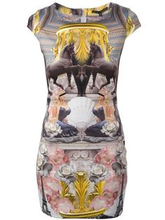 Shop Philipp Plein printed dress in Spinnaker 141 from the world's best independent boutiques at farfetch.com. Over 1000 designers from 300 boutiques in one website.