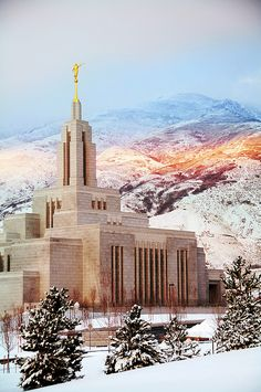 Draper, Utah temple. This is my temple!! I LOVE this temple, as all, but this is…