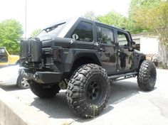 Nice bulletproof jeep. and those wheels...