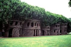 Ecological architecture: Summer van Patrick Dougherty