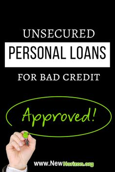 Yes, you can still get approved for personal loans  even with bad credit score.