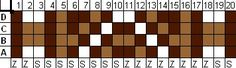 Motif 1 Rhythm 6/6 with 3 colors