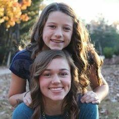 Sadie and Bella Robertson