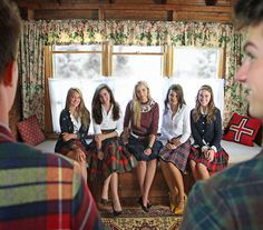 @Kelsie Dale I think we should add plaid skirts to our awkward family Christmas photo outfit