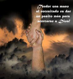 ¡La mano de Jesús!