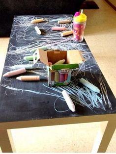 Die 16 hübschesten DIY Ideen, was man mit Tafelfarbe alles machen kann! - DIY Bastelideen