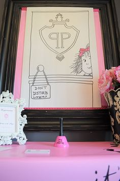 Eloise Party - Hotel Registration welcome table/gifts