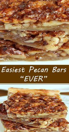 Pecan Recipes, Candy Recipes, Sweet Recipes, Baking Recipes, Cookie Recipes, Dessert Recipes, Bar Recipes, Brownie Recipes, Yummy Recipes